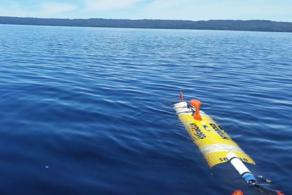 AUV deployed in study of environmental conditions on Tasmania's west coast