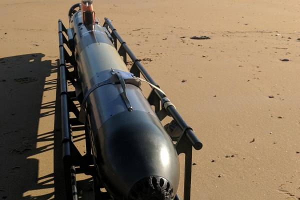Case study: Navy complete AUV Operators' training