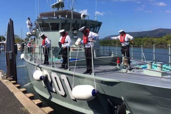 Safe passage home for Pacific Patrol Boats