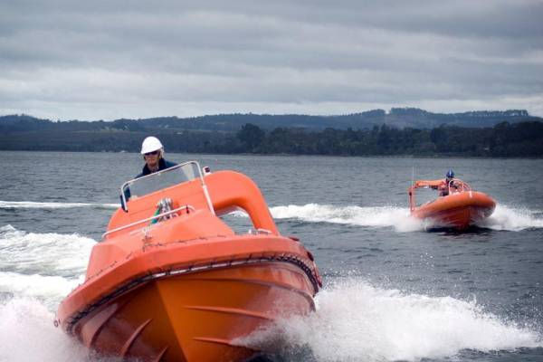 Places still available on last Fast Rescue Boat training for 2018