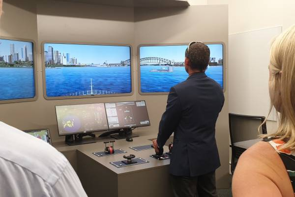 New Maritime Simulation Unit open in Sydney