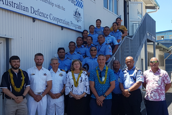 First police officers graduate from junior leadership course in Samoa