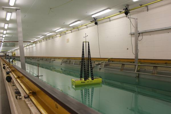 Case study: Model testing validates innovative wave energy device concept