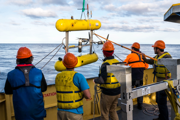 Flagship research vessel supports marine survey